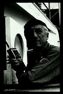 JAQUES COUSTEAU, OCEANOGRAPHER.