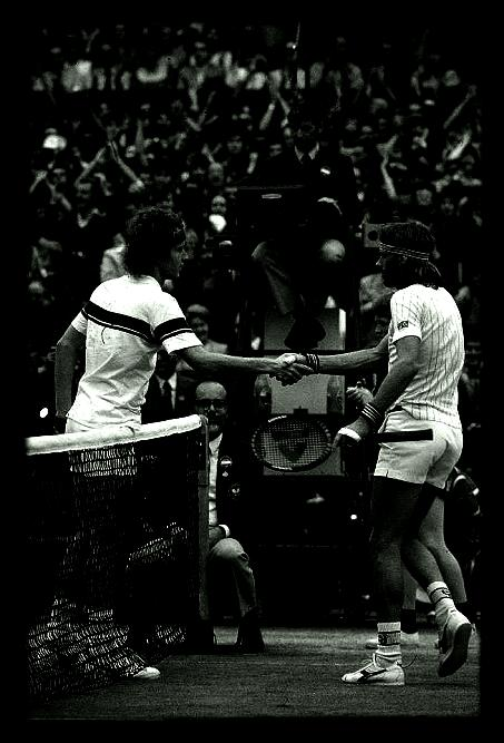 JOHN MCENROE &amp; BJORN BORG.
