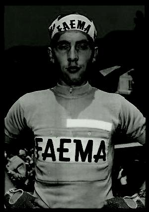 EDDY MERCKX, CYCLIST.